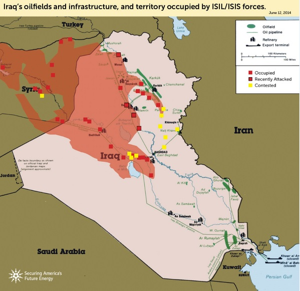 iraq oil fields