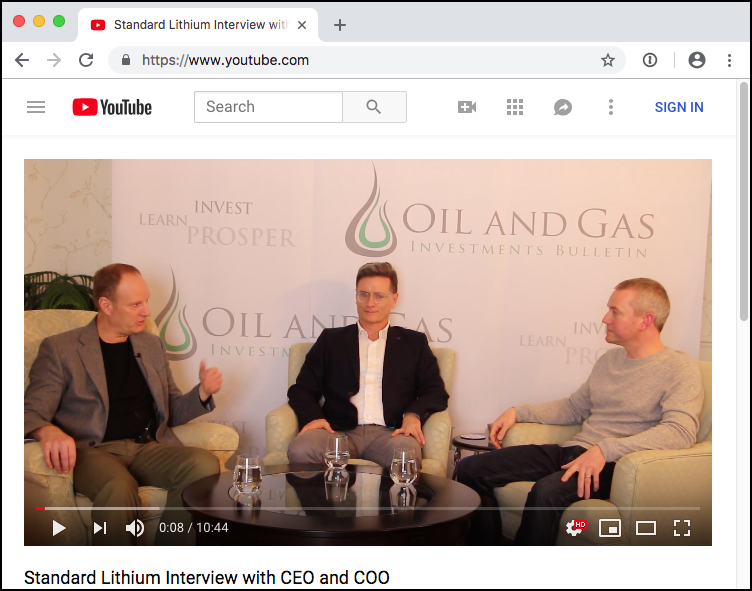 Std Lith CEO COO interview